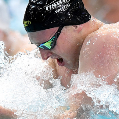 Matthew Wilson stakes a claim on night 1 of Australian World Swimming Trials